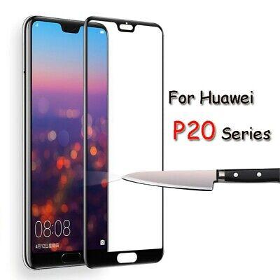 Huawei P20 verre trempé intégrale écran 100% couvert protection totale 5