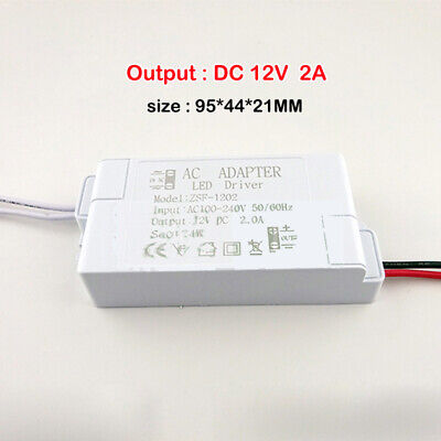 AC 110V 220V 240V to DC 12V LED Constant Voltage Adapter Drive Power Converter 3