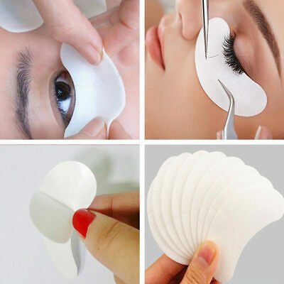 Salon Eyelash Lash Extensions Under Eye Gel Pads Lint Free Patches Make Up Tools 12