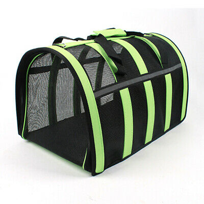 Pet Carrier Soft Sided Cat / Dog Comfort Travel Tote Bag Airline Approved S/M/L 5