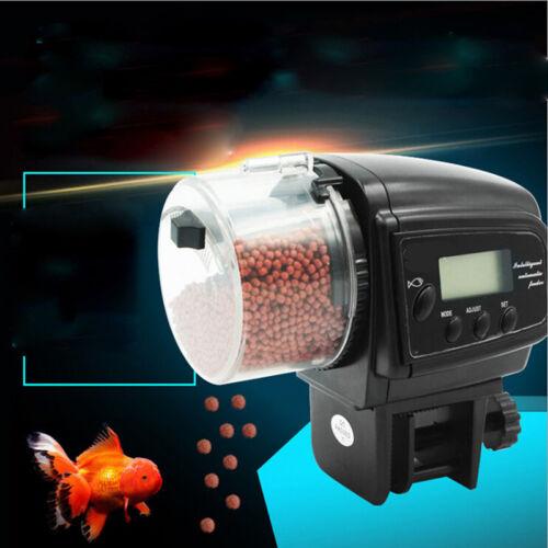 Adjustable Automatic Aquarium Timer Auto Fish Tank Pond Food Feeder FeedingLD