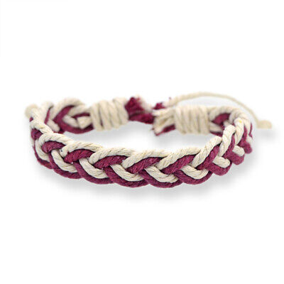 Fashion Girl's Hemp Rope Weave Bracelet Simple Accessories Jewelry Gift 7
