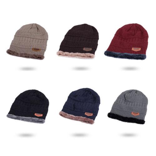 c7eea68e17e Men Women Winter Warm Crochet Knit Baggy Beanie Wool Skull Hat Ski Cap  Scarf New 8 8 of 8 See More