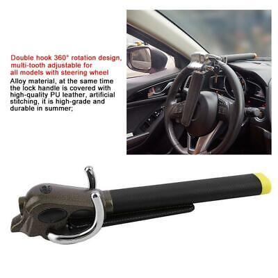 Universal Heavy Duty Car Van Steering Wheel Lock Anti Theft Security Safe 3 Keys 3
