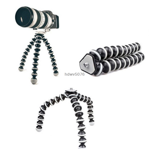 Octopus Flexible Tripod Stand Gorillapod For Canon Nikon Camera Digital DV New 5