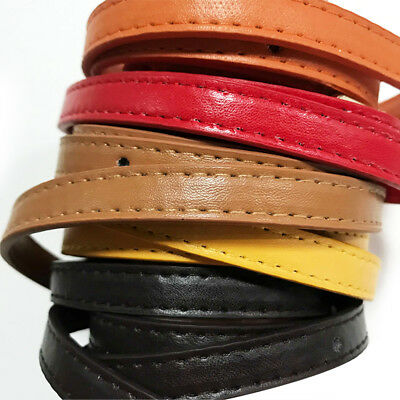 1.2cm*120cm Handbag Cross Body Shoulder Bags Strap PU Leather Handle Replacement 8