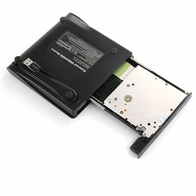 Slim USB 2.0 External CD-RW DVD ROM Drive Writer Reader Burner For Laptop PC UK 3