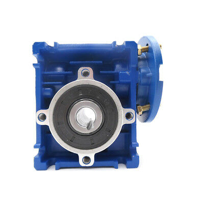 Worm Gear Reducer Speed Ratio 10:1 15:1 30:1 NMRV030 56B14 for Stepper Motor 2