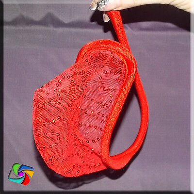 Sexy Men C-String Micro  Pouch - Rot Ring Model (31)