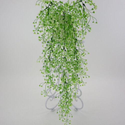bd8fd354a220a9 plantes artificielles décoration lierre faux feuillage fleur accroché  garland 7 7 sur 12 Voir Plus