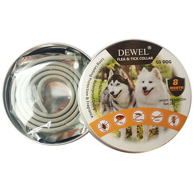 Dewel Pro Guard Flea and Tick Control Collar for Large Dog Over 18lb 8 Month NEW 5