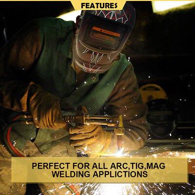 Solar Welding Mask Helmet Auto Darkening  MAG ARC TIG High Quality AU Pro 6