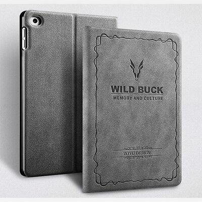 """BUCK Schutz Hülle New Apple iPad 2018 2017 9.7"""" Air 1/2 Tasche Cover Smart Case"""