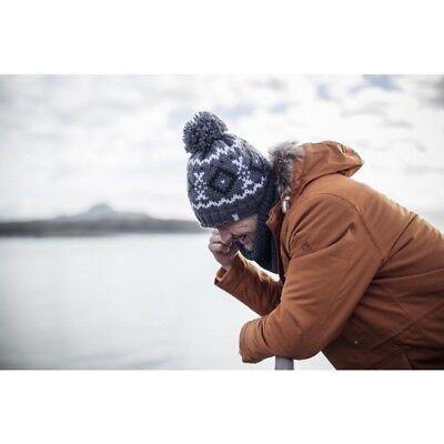 Homme Tricot Chaud Polaire Hiver Ski Bonnet Chapeau avec Pompon Heat Holders