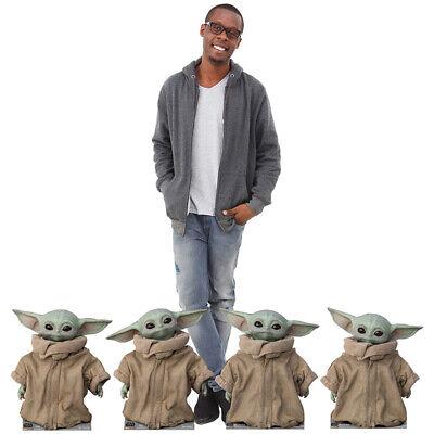"THE CHILD ""Star Wars: The Mandalorian"" Set of 4 CARDBOARD CUTOUT Standup Standee 3"