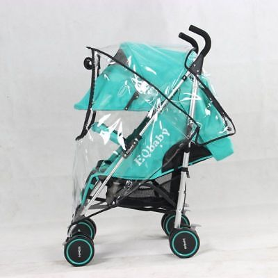 Universal Pushchair Buggy Rain Cover Baby Transparent Stroller Pram Wind Shield 5