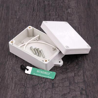 New Plastic Electronics Project Box Enclosure Instrument Case DIY With Screws UK 4