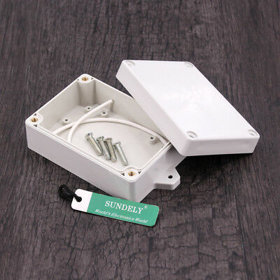 Project Electronic Instrument Case Plastic Waterproof ABS Cover Enclosure Box UK 4