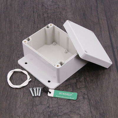 New Plastic Electronics Project Box Enclosure Instrument Case DIY With Screws UK 7