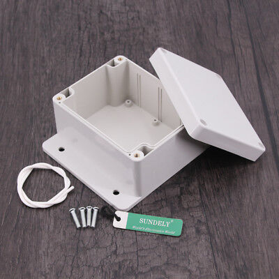 Project Electronic Instrument Case Plastic Waterproof ABS Cover Enclosure Box UK 7