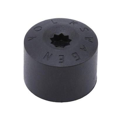 Car Wheel Tyre Hub Screw Bolt Nut Caps Accessories Black Practical Caps T 6