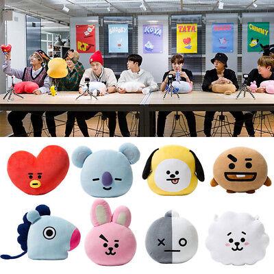 UK Hot BTS BT21 TATA SHOOKY RJ Plush Toy SUGA COOKY Pillow Sofa Cushion Doll 12