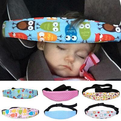 Baby Car Sleep Positioner Head Support Stroller Seat Fastening Belt Sleep Safety 2