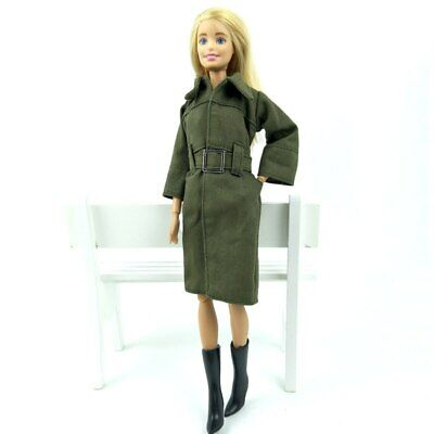 Office Lady Fashion Coat For 1/6 Doll Clothes & Shoes Outfits For 11.5in Doll 4