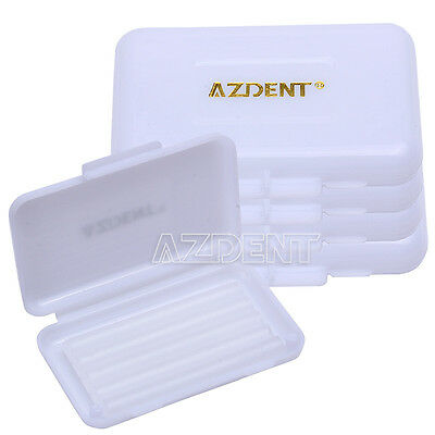 20 Sets Dental Orthodontic Wax For Ortho Brace Gum irritation White Scent Clear