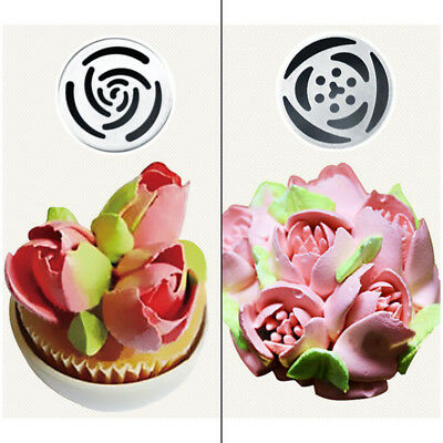 7Pcs Russian Tulip Flower Cake Icing Piping Nozzles Decorating Tips Baking Tools 5