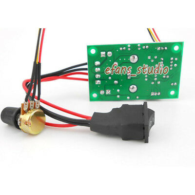 6A PWM Motor Speed Controller Module DC 6V 12V 24V 30V CW /CCW Reversible Switch 5