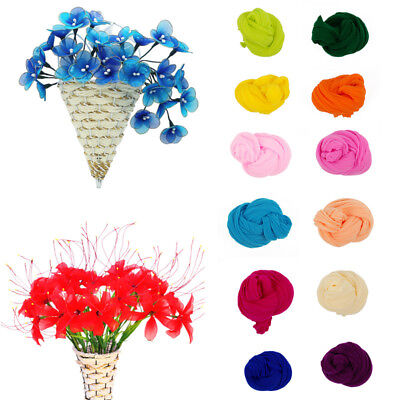 5Pcs 2.3M Nylon Stocking For Making Artificial Mesh Flower Arrangement Stamen 8