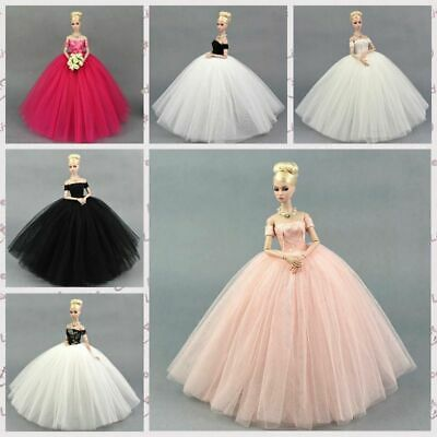 """Doll Dress Costume Elegant Lady Wedding Dress For 11.5"""" Doll Clothes Outfits Toy 2"""