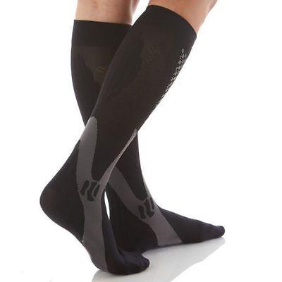 (2 Pairs) Compression Socks Sports Men Women Calf Shin Leg Running Fitness S~XXL 3