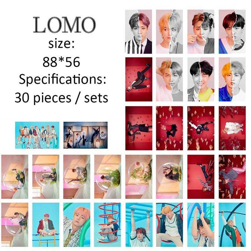 30pcs/set KPOP BTS LOVE YOURSELF 結 ANSWER LOMO Card Mini Poster Photo Cards 2