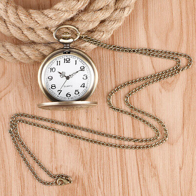 Doctor Who Quartz Pocket Watch Full Hunter Classic Style Necklace with Chain 6