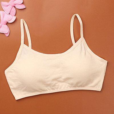 Mädchen BH Bra Bustier Top ohne Bügel Mädchen Unterwäsche Kinder Kleidung 2