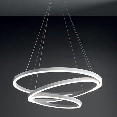 LAMPADARIO SOSPENSIONE DESIGN moderno luce led arredamento lampada ...
