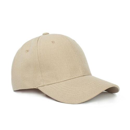 Baseball Cap Women Men Plain Snapback Trucker Sports Caps Sun Hats Summer Unisex 11