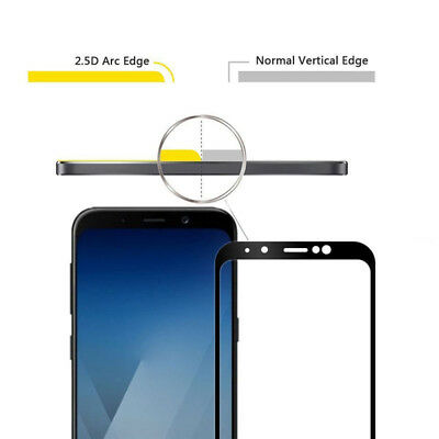 3D Full Cover 9H Tempered Glass Screen Protector For Samsung Galaxy A8 A8+ 2018 5