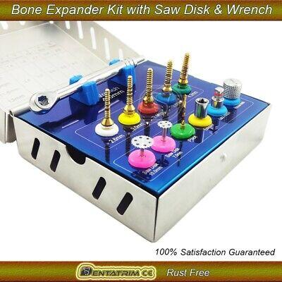 Bone Expander Trephine Sinus Lift Saw Disk Dental Implant Oral 12 Pcs Kit 2
