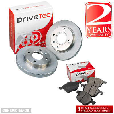 Honda Civic 96-01 MB3 1.5i V-tec MB9 112 Rear Brake Pads Discs 239mm Solid