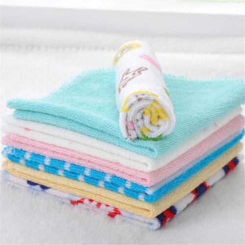Baby Feeding Cloth Kids Bath Towel Washcloth Bathing Feeding Wipe Soft Cloth 8PC 3