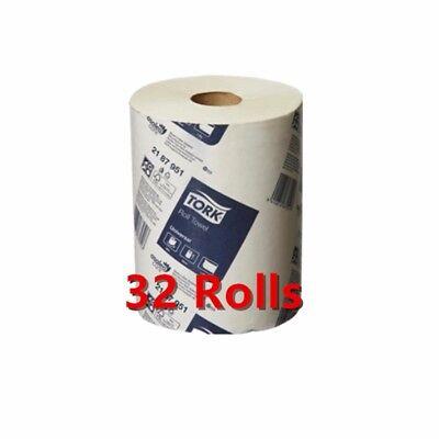 Tork Hand Towels Paper Towel Roll Bulk Industrial Kitchen White 8/16/32 Rolls 6