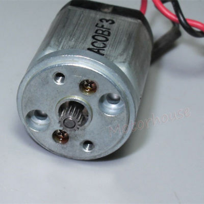 THINK DC 9V12V 24V 350RPM mini 20mm Metal Gearbox Gear motor Reduction Robot Car 7