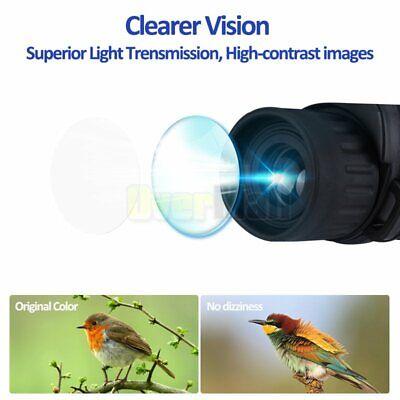 10X25 Binoculars with Night Vision BAK4 Prism High Power Waterproof 5