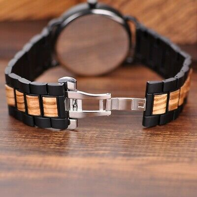 Luxury Design BOBO BIRD - Sports Japanese Quartz Wrist Watch - Men Casual 43mm 7