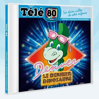 pack 2 cd TELE 80 : DENVER LE  DERNIER DINOSAURE / ALICE AU PAYS DES MERVEILLES 2