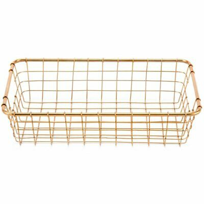 Zuo 3 Piece Basket Set in Gold 8