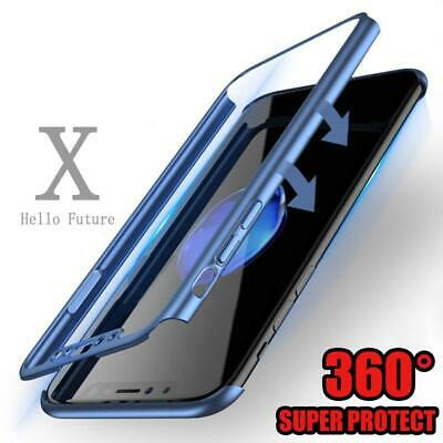 For iPhone 6 7 8 5s Plus XR XS Max Case Shockproof360 Bumper Hybrid Phone Cover 10